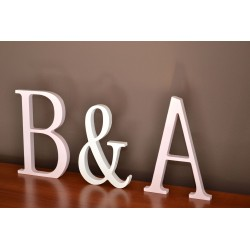 Litery stojące na ślub 21 cm