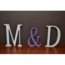 Litery na ślub wesele 21 cm