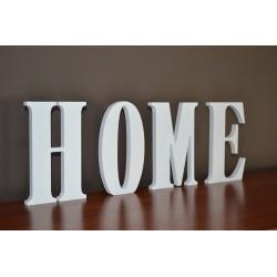 Litery stojące HOME