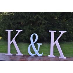 Dekoracje na ślub liery stojące
