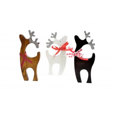 Renifer prezent na Boże Narodzenie