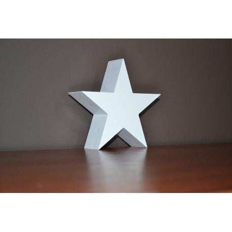 Stojąca gwiazda na Święta Bożego Narodzenia