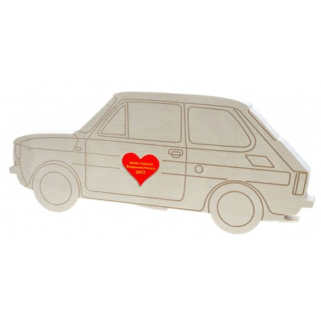 Fiat 126P WOŚP maluch