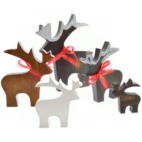 Renifer ozdoby na Boże Narodzenie dekoracja
