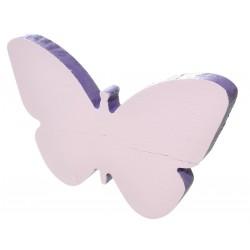 Motyl z drewna malowany duo color