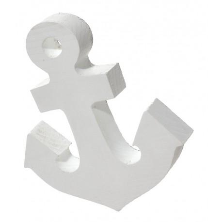 Kotwica symbol wierności biała