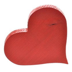 Serce malowane na czerwono