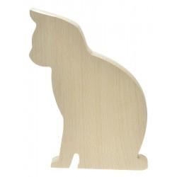 Kot siedzący niemalowany